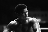 Muhammad Ali at His Training Camp in Munich Fotografisk tryk af  Staff