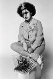 Poly Styrene Studio Portrait 1977 Photographic Print by Peter Stone