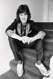 Gary Moore of Thin Lizzy. 27th March 1979 Fotografisk tryk af Peter Stone