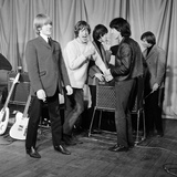 The Rolling Stones at the ABC Theatre, 1965 Fotoprint van  Staff