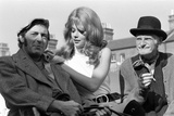 Steptoe and Son Photo Call to Announce the New Feature Film 1971 Photographic Print by Doreen Spooner