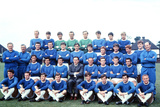 Everton Squad Pose for a Group Photograph, 1967 Fotografisk tryk af Willy Talbot