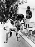 The Beatles 1964 Fotografisk trykk