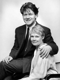 Dame Judi Dench and Kenneth Branagh at the Birmingham Repertory Theatre Photographic Print by  Randle