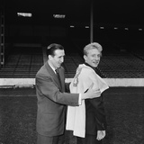 Manchester City's new signing Denis Law, 1960 Photographic Print by  Thomas