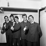 The Moody Blues 1964 Fotografisk tryk af John Varley