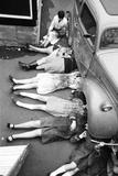 Norwood Girls School Reproduction photographique par Peter Stone