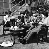 Rolling Stones at hotel in Isle of Man, 1964 Photographic Print by Alfred Markey