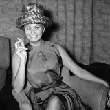 Sophia Loren 1961 Photographic Print by Daily Mirror