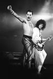 Rock Group Queen in Concert at Wembley Arena 1984 Fotografie-Druck von Nigel Wright