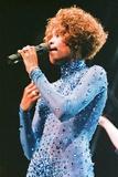Whitney Houston at Wembley Arena 1991 Fotografisk tryk af  Taylor