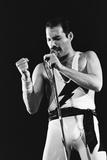 Rock Group Queen in Concert at Wembley Arena 1984 Fotografisk trykk av Nigel Wright