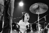 The Who on Stage 1971 Fotografisk tryk af  Staff