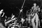 T Rex in Concert, 1972 Fotografisk tryk af Frederick Warren