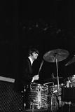 Beatles performing San Francisco August 1964 Fotografisk tryk af Arthur Sidey