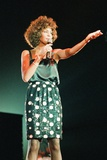 Whitney Houston in Birmingham 1988 Fotografisk tryk af  Williams