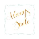 Beautiful and Smile II Giclée-Premiumdruck von  SD Graphics Studio