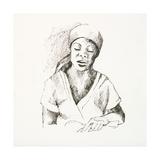 Sketched Woman I Prints by Jane Slivka