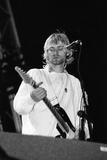 Nirvana at Reading 1992 Reproduction photographique par  Staff