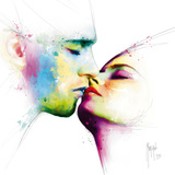 Le baiser Poster von Patrice Murciano