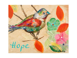Band of Inspired Birds III (Hope) Print by Gina Ritter