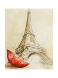 Eiffelturm Kunstdrucke von Patricia Pinto