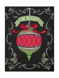 Noel Chalk Art I Stampa giclée premium di Andi Metz