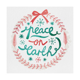 White Christmas Wreath III Stampa giclée premium di  A Fresh Bunch
