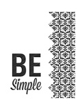 Be Simple Choose Joy I Lámina giclée prémium por  SD Graphics Studio