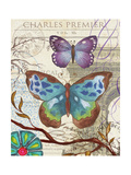 Paris Butterflies II Posters tekijänä Elizabeth Medley