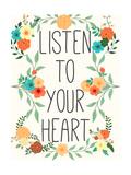 Heart and Love II Giclée-Premiumdruck von  SD Graphics Studio
