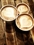 Love in a Latte Photographic Print by  Acosta