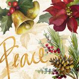 Christmas Poinsettia II Stampa giclée premium di Lanie Loreth