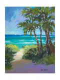 Caribbean View I Premium Giclee Print by Jane Slivka