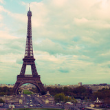 Eiffel View Photographic Print by Emily Navas