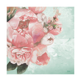 Pink Peonies I Giclée-Premiumdruck von Patricia Pinto