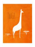 Safari Animal I Lámina giclée prémium por Modern Kat