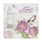 Grow and Blossom II Premium-giclée-vedos tekijänä Lanie Loreth