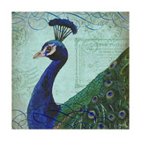 Parisian Peacock II Julisteet tekijänä Elizabeth Medley