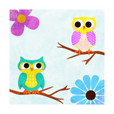 Cozy Owls II Prints by  SD Graphics Studio