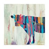 Rhizome Cow Premium Giclée-tryk af Ann Marie Coolick