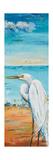 Great Egret Panel II Giclée-Premiumdruck von Patricia Pinto