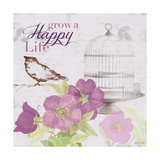 Grow and Blossom I Stampa giclée premium di Lanie Loreth
