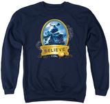 Crewneck Sweatshirt: Polar Express- True Believer Shirts
