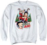 Crewneck Sweatshirt: Betty Boop- I Want It All Shirts