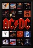 AC/DC - Album Covers Affiches