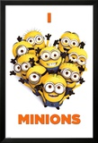Despicable Me 2 (I Love Minions) Movie Poster Prints