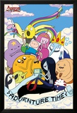 Adventure Time - Clouds Poster