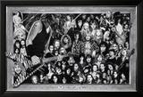 Metal (Heavy Metal Collage) Music Poster Print Plakat