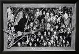 Metal (Heavy Metal Collage) Music Poster Print Planscher
